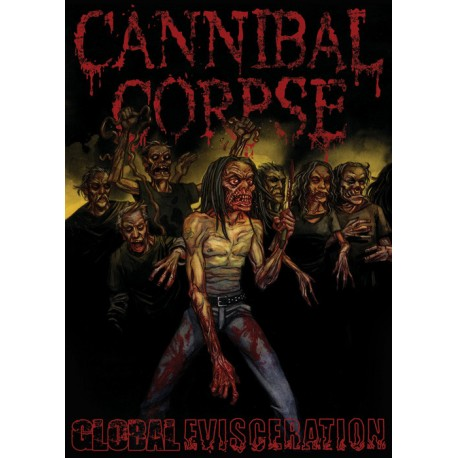 """CANNIBAL CORPSE """"Global Evisceration"""" DVD"""