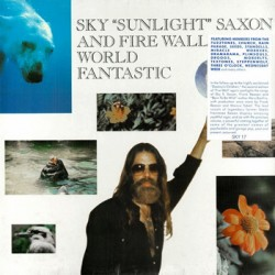 "SKY ""SUNLIGHT"" SAXON & FIRE WALL ""World Fantastic"" LP"