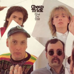 "CHEAP TRICK ""One On One"" LP Steamhammer"