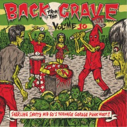 "VV.AA. ""Back From The Grave Vol. 10"" LP Crypt"