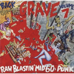 "VV.AA. ""Back From The Grave Vol. 7"" 2LP Crypt"