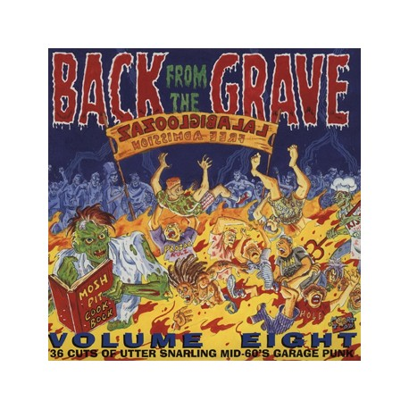 "VV.AA. ""Back From The Grave Vol. 8"" 2LP Crypt"