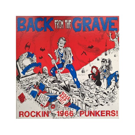 """VV.AA. """"Back From The Grave Vol. 1"""" LP Crypt"""