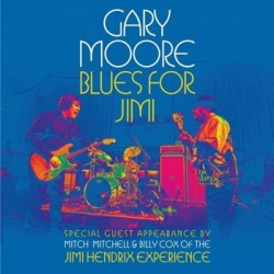"GARY MOORE ""Blues For Jimi"" 2LP Eagle Rock"