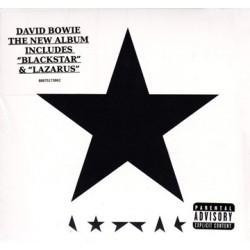 "DAVID BOWIE ""Blackstar"" CD Digipack"