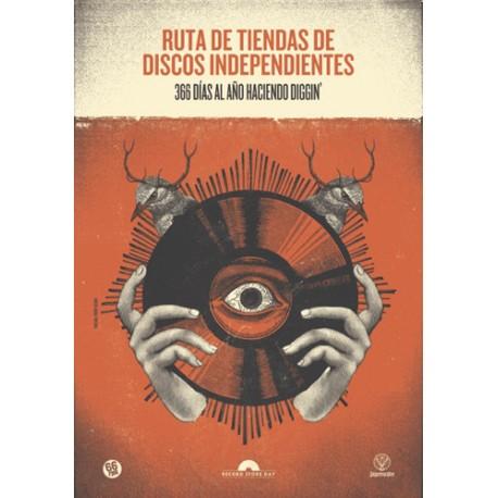 """RECORD STORE DAY 2017 """"366 Días Al Año Haciendo Diggin'""""Libro"""