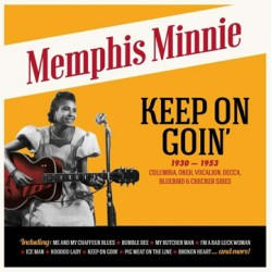 "MEMPHIS MINNIE ""Keep On Goin' 1930-1953"" LP"