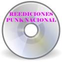 Reediciones Punk Nacional 70's 80's 90's