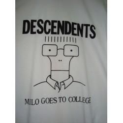 """CAMISETA DESCENDENTS Blanca """"Milo Goes To College"""""""