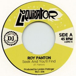 """ROY PANTON """"Seek And You'll Find"""" SG 7"""""""