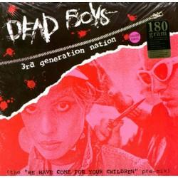 """DEAD BOYS """"3rd Generation Nation"""" LP Color"""
