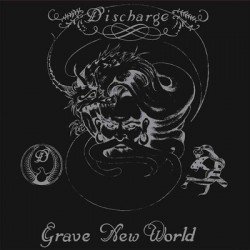 "DISCHARGE ""Grave New World"" LP Color"