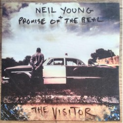 """NEIL YOUNG + PROMISE OF THE REAL """"The Visitor"""" 2LP Gatefold."""