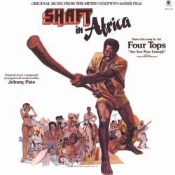 """B.S.O. """"Shaft In Africa"""" LP (Johnny Pate)."""
