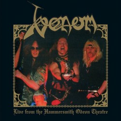 "VENOM ""Live From The Hammersmith Odeon Theatre"" LP Color."