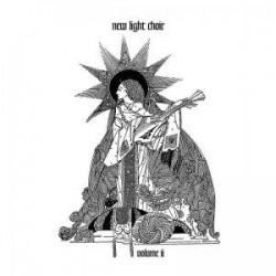 """NEW LIGHT CHOIR """"Volume II"""" LP Color Splatter."""