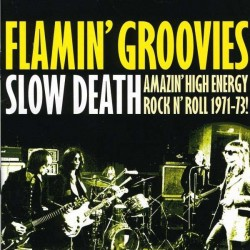 "FLAMIN' GROOVIES ""Slow Death (Amazing R'n'Roll 1971-73)"" LP."