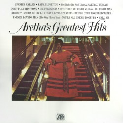 "ARETHA FRANKLIN ""Aretha's Greatest Hits"" LP."