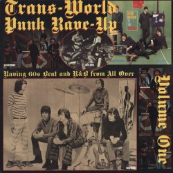 "VV,AA. ""Trans-World Punk Rave-Up Vol.1"" LP."