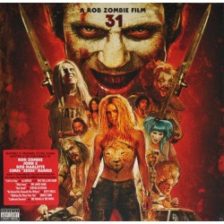 "B.S.O. ""A Rob Zombie Film 31"" LP."