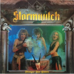 """STORMWITCH """"Stronger Than Heaven"""" LP Color Milky Clear."""