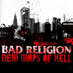 "BAD RELIGION ""New Maps Of Hell"" LP."