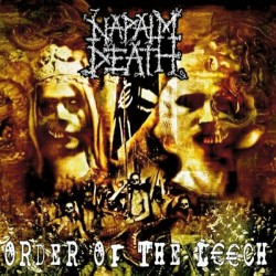 "NAPALM DEATH ""Order Of The Leech"" LP."