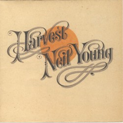 """NEIL YOUNG """"Harvest"""" CD."""
