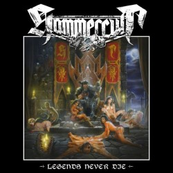 "HAMMERCULT ""Legends Never Die"" LP."