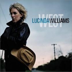 """LUCINDA WILLIAMS """"West"""" CD."""