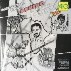 "AUGUSTUS PABLO ""Africa Must Be Free"" LP."