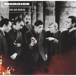 """RAMMSTEIN """"Live Aus Berlin"""" CD."""