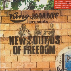 "KING JAMMY ""New Sounds Of Freedom"" LP."