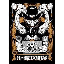 "CAMISETA H-RECORDS ""Serpientes"" Nueva 2016"