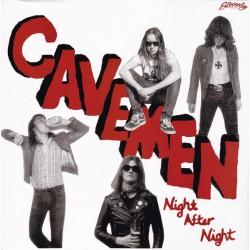 "CAVEMEN ""Night After Night"" LP."