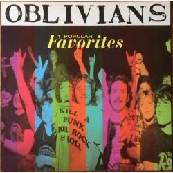 """OBLIVIANS """"Popular Favorities"""" LP."""