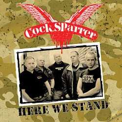 """COCK SPARRER """"Here We Stand"""" LP Color + DVD + Cd."""