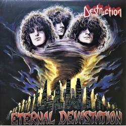"""DESTRUCTION """"Eternal Devastation"""" LP Color Yellow."""