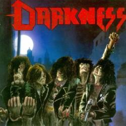 "DARKNESS ""Death Squad"" LP Color Blue."