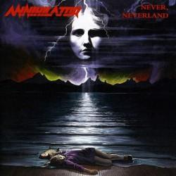 "ANNIHILATOR ""Never, Neverland"" CD."