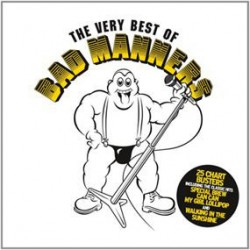 """BAD MANNERS """"The Very Best Of The Bad Manners"""" CD."""