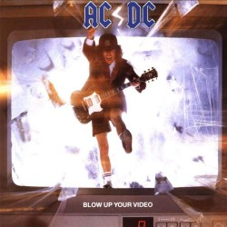 "AC/DC ""Blow Up Your Video"" LP."