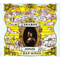 """SHARON JONES & THE DAP-KINGS """"Give The People What They Want"""" CD."""