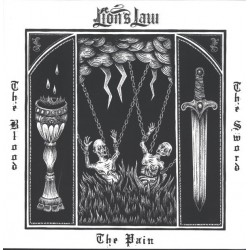 """LION'S LAW """"The Pain, The Blood And The Sword"""" CD."""