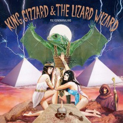 "KING GIZZARD AND THE LIZARD WIZARD ""Polygondwanaland"" LP Color Rosa"