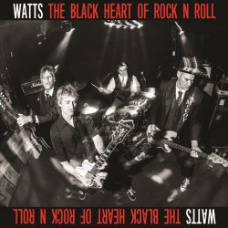 """WATTS """"The Black Heart Of Rock'n'Roll"""" LP Color."""
