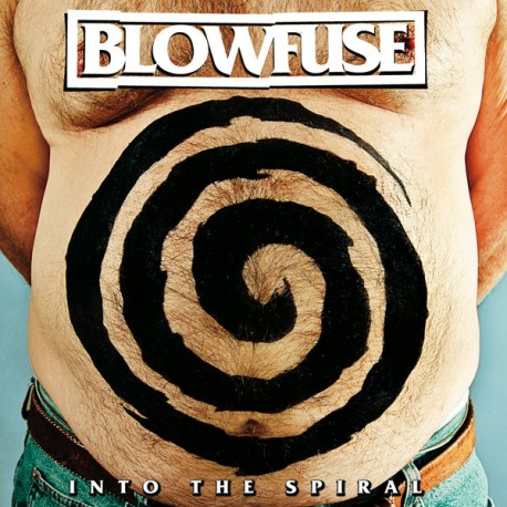 """BLOWFUSE """"Into The Spiral"""" CD."""