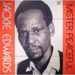 "JACKIE EDWARDS ""Mister Peaceful"" LP."