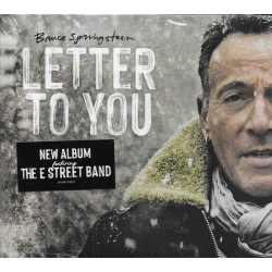 """BRUCE SPRINGSTEEN """"Letter To You"""" CD."""