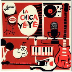 """LA CHICA YE-YÉ """"Shake, Shake, Shake"""" SG 7""""."""